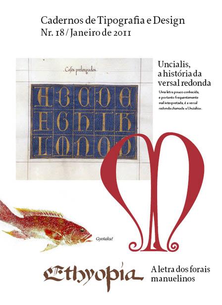 Cadernos de Tipografia e Design 18